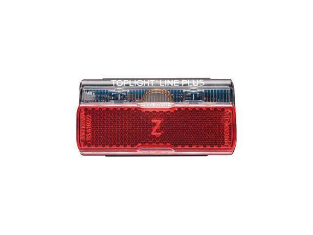 Busch + Müller Toplight Line + BrakeTec mit Standlicht 50mm schwarz/rot